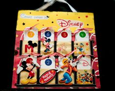 counting down.... so totally doing one of these when i take my kids to disney one day! pocket, disney crafts, countdown calendar, craft time, disneyland, disney scrapbook, countdown inspir, disney countdown, kid