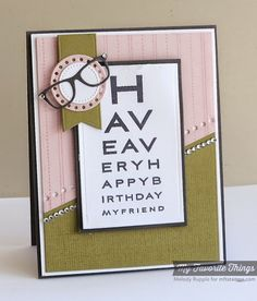 Eye Charts, Writing Table Background, Blueprints 18 Die-namics, Pierced Circle STAX Die-namics, Stitchable Dot Circle STAX Die-namics - Melody Rupple #mftstamps