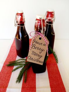 Homemade Blackberry Syrup - Perfect Handmade Gift for Christmas