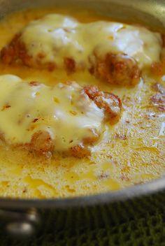 Chicken Sautéed with Cheese & Milk