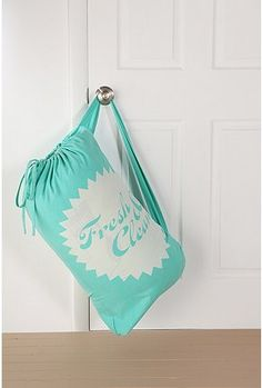 Cute laundry bag that can be hung