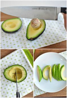 HOW TO: Cut an Avocado Like a Boss #howto #diy