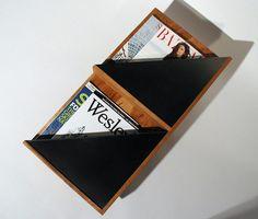 Wall mounted Magazine rack