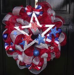 Poly Deco Mesh Wreath
