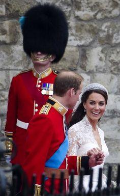 Royal Wedding..Love their smiles!!
