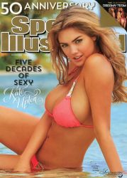 Kate takes a threepeat-3 times a covergirl for SI Swimsuit 2014 50th anniversary edition! @Kate Upton