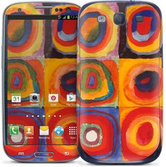 Kandinsky - Farbstudie Quadrate - Galaxy S III | GelaSkins