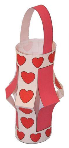 Valentines Day Paper Lantern Craft