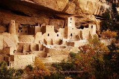 The cliffs of Mesa Verde