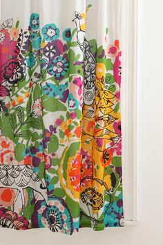 vibrant colors, shower curtains, baby girl room curtains, garden curtain, bright colors