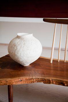 benches, mjolk, nakashima retrospect, woodwork, ceram art