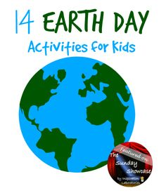 Earth Day Activities for Kids Featured on the Sunday Showcase at Inspiration Laboratories