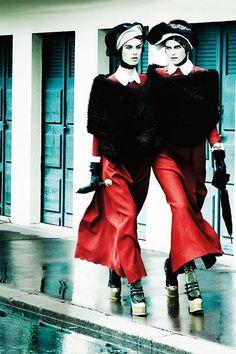 Mario Testino / Vogue UK