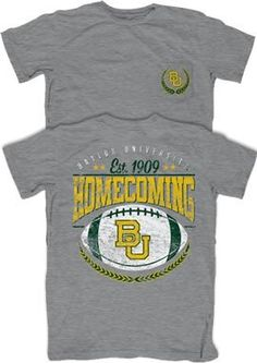 #Baylor Homecoming is bear-ly a month away! (Oct. 16-19, 2013) // #Baylor Homecoming 2013 T-Shirt -- $16 from Baylor Bookstore