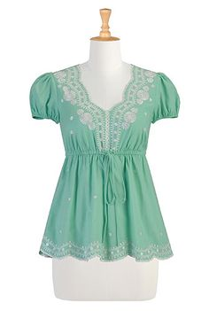 Cute peasant blouse!!!