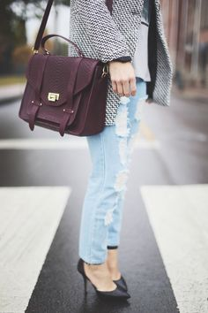 GiGi New York : Happily Grey Fashion Blog : Hayden Satchel