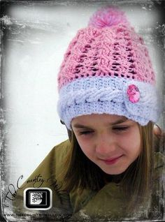 Rockin The Cables Hat- A free Pattern - Country Willow