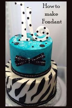 Sweet 16 Cake  Great decorating tips here - ENTER YOURS in the FAIR this year - http://eldoradocountyfair.org/entry.html - #fair #hangtown #placerville #eldoradocounty #cake #exhibit #entry #contest