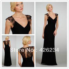 vestidos sencillos y elegantes largos