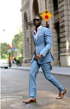 Placid Blue Suit
