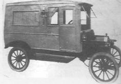 1915 Kunkle Ford A hearse