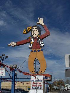 OH Cincinnati - Big Indian Sign | Flickr - Photo Sharing!