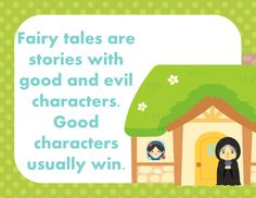 FREE fairy tale element anchor charts: a sample from 2nd Grade Snickerdoodles' new fairy tale unit