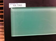 Water green glass subway tile