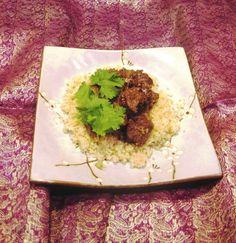 Mesopotamian Lamb and Carob Stew    by Laura Kelley