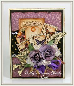 Craft Hoarders Anonymous Challenge Blog: Challenge #4 - Show Some Sparkle, Glitz, or Glam!
