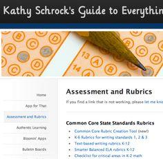Assessment Rubrics http://www.schrockguide.net/assessment-and-rubrics.html