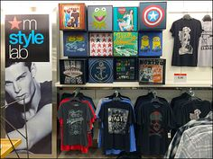 T-Shirt Cube Merchandiisng at Macys