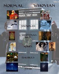 Happy Holidays Whovians