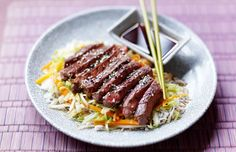 Gizzi Erskine cooks Japanese-inspired teriyaki beef with stir-fied ...