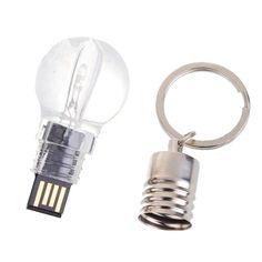 Acryl bulb usb flash drive