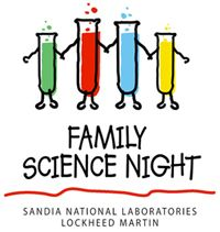 Family Science Night -- activities instructions and materials list as well as activities to try at home.