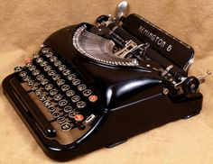 Typewriters are cool.