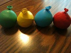Playdough Balloons!