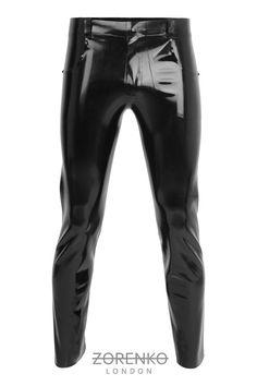 latex jean