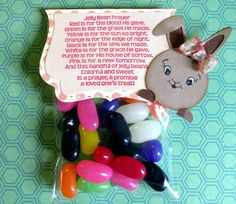 Scrappy Zeni: Bunny Treat! Easter treat craft