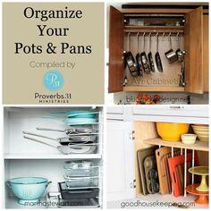 Pots n pans Kitchen organization