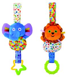 "Everyone needs a little music in their life, and babies will love the On-The-Go Musicals that feature a hand washable elephant and a lion. ""Music is an essential part of us. It gives joy, connection and togetherness,"" says Ted Rosenberger, a Seattle area infant music instructor. When babies are exposed to music, as they grow they are more likely to want to make their own. Rosenberger says that early exposure to sounds helps them, ""appreciate all arts that touch the human spirit."""