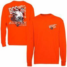 Auburn Tigers 2014 BCS National Championship Game Bound Long Sleeve T-Shirt - Orange war eagl, bcs championship, bcs nation, florida state, championship game, eagl yall, auburn tigers, footbal 201314, auburn footbal