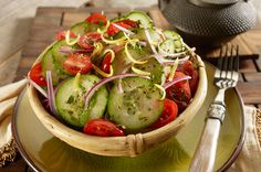 New from PF Changs - Asian Tomato & Cucumber Salad