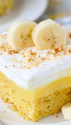 Banana Pudding Cake | Your Cup of Cake
