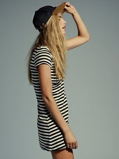 Free People On the Line Ponte Dress at Free People Clothing Boutique