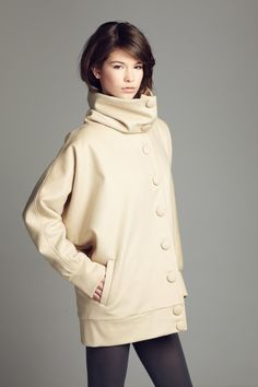 Trendy Loose Coat by vickyduboisdesign on Etsy, $520.00