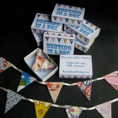 Bunting in a Matchbox