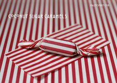 sugar caramel, salt coconut, coconut sugar, candi, paleo caramel