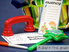 activities to help work on fluency, accuracy, and rate during guided reading